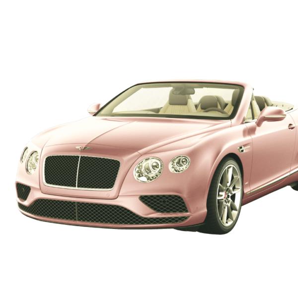 """Das passende Auto zur Mode in den Trendfarben """"Rose Quartz"""" und """"Serenity"""""""