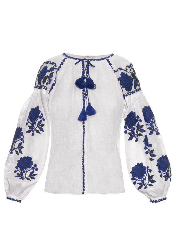 Bestickte Boho-Bluse von Yasensvit, Odessa. Preis: 200 Euro plus Versand