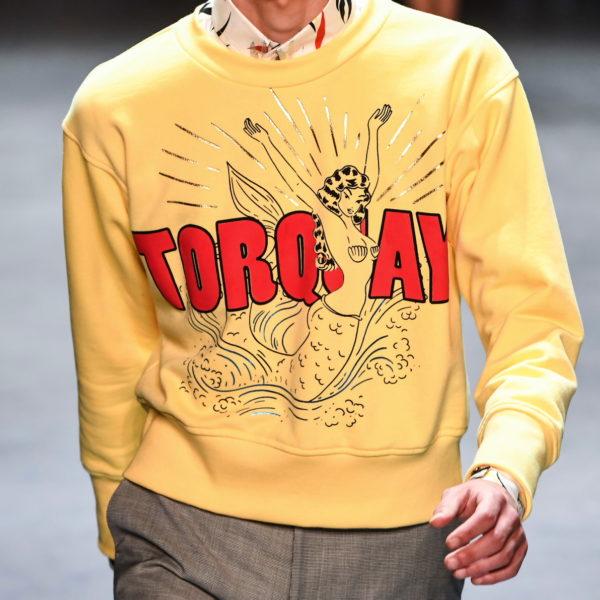 Menswear Trend: Kein Frust mehr auf der Brust