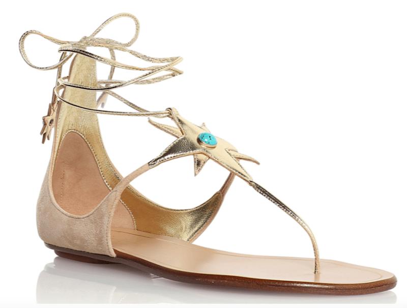 Aquazzura Midnight Sandals Sandale Modepilot Stern