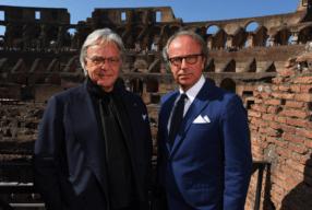 Diego Della Valle Andrea Della Valle Tods Modepilot Kolosseum Rom Sanierung