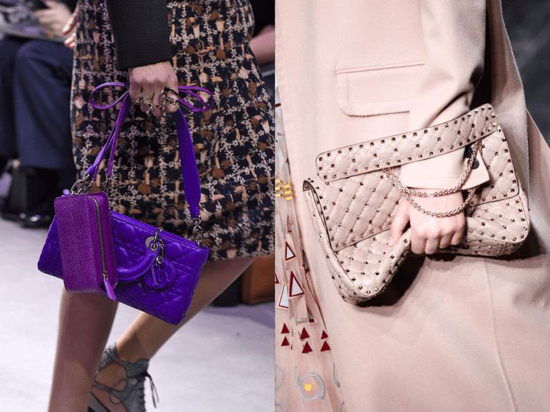 Handtaschen Dior versus Valentino