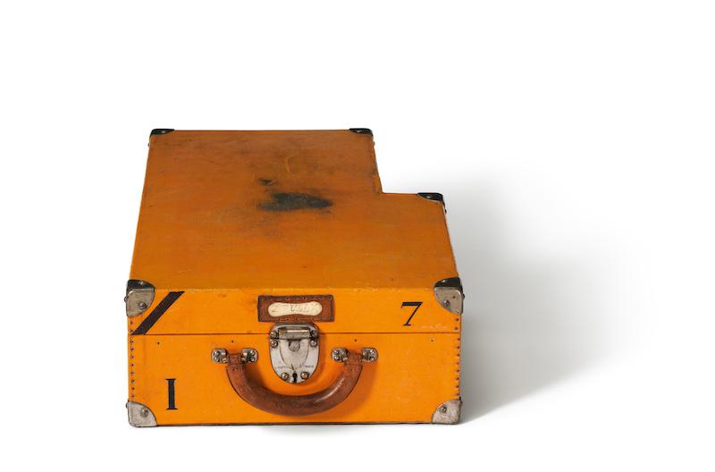 Louis Vuitton Koffer 1924 Gelb Citroen