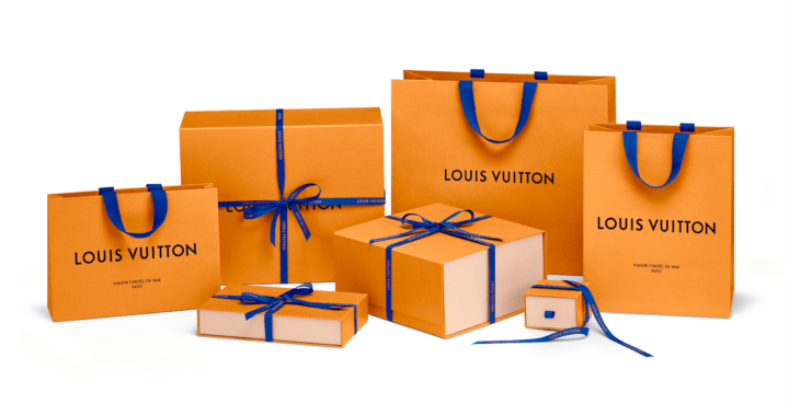 Louis Vuitton neues Packaging Tüten Modepilot