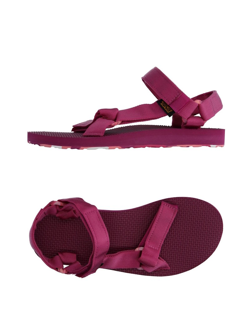 Teva Magenta Fuchsia Yoox Modepilot Sandale