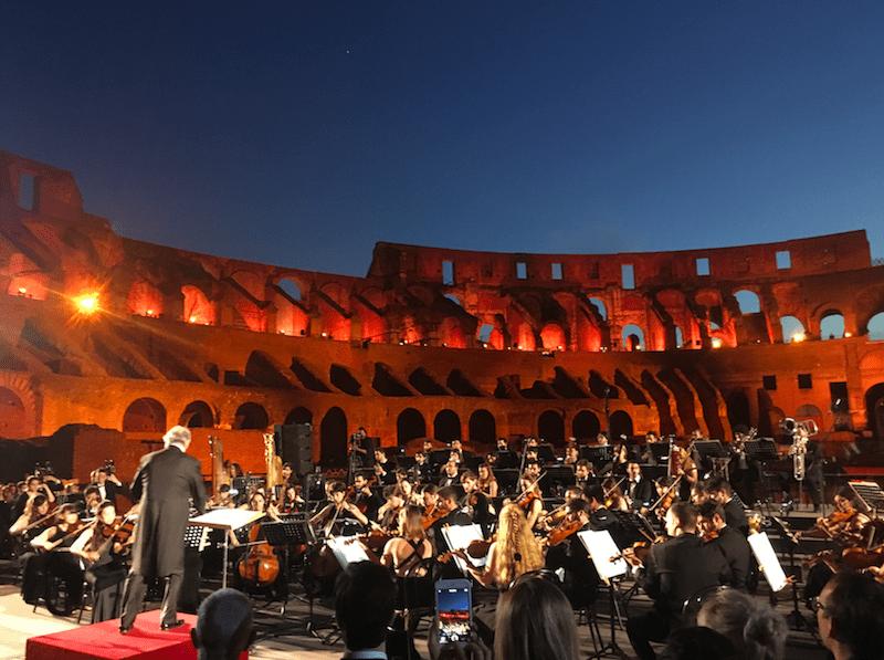 Zubin Mehta Tods Modepilot Kolosseum Rom Konzert