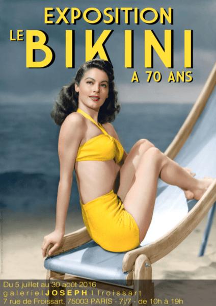Cover der aktuellen Bikini-Ausstellung in Paris