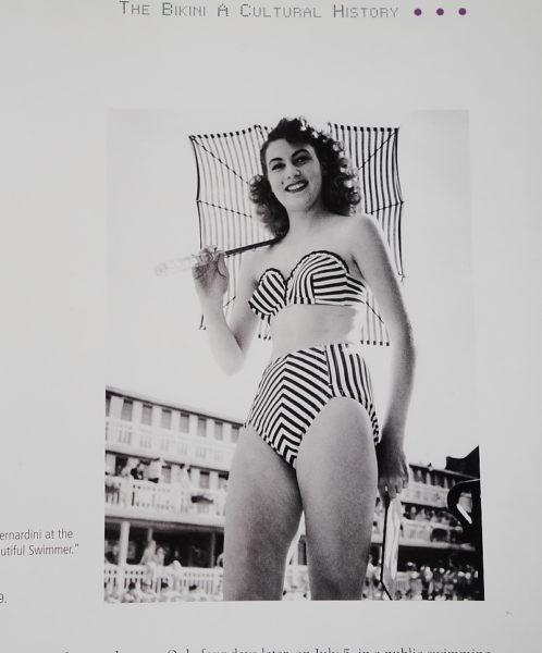 Bikini-Modell Ende der 40er Jahre