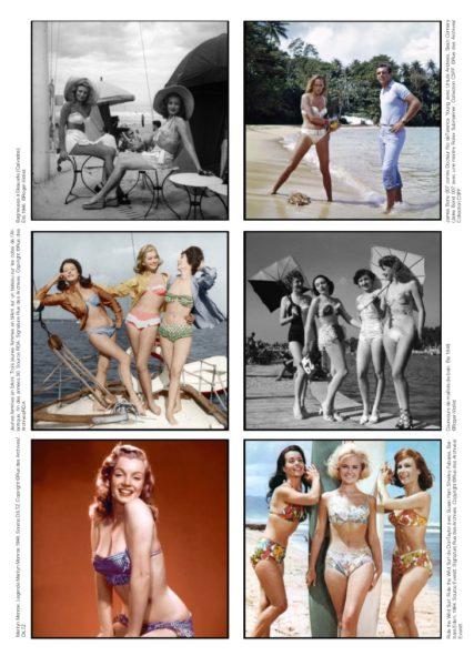 Bikinis in den 50ern