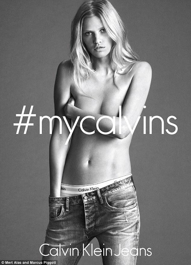 Lara Stone Calvin Klein Modepilot