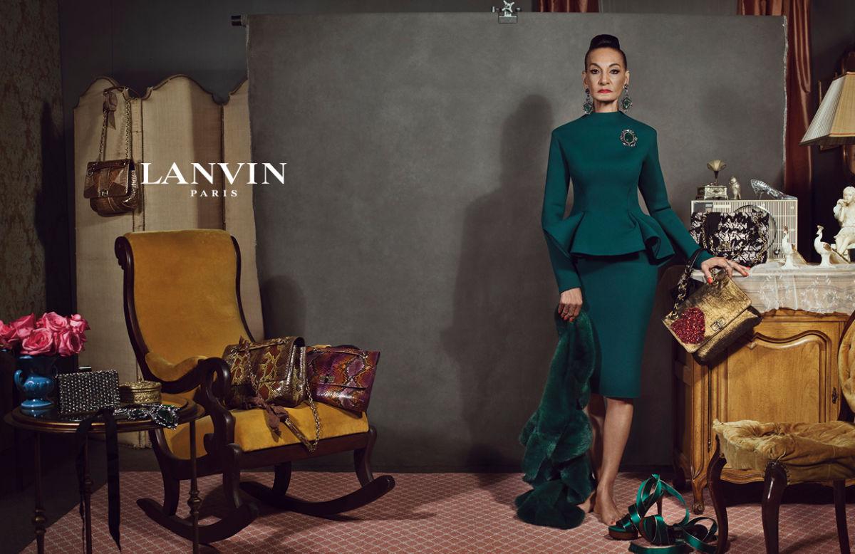 Jacqueline 'Tajah' Murdock Lanvin Campaign real model nodel