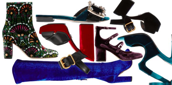 Samtschuhe Modepilot 2016