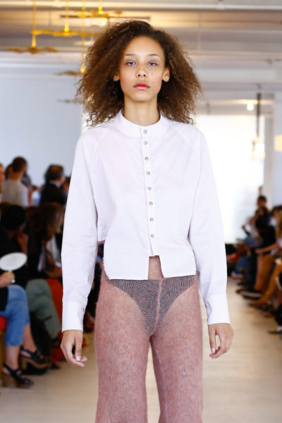Pixelformula womenswear ready to wear prêt a porter summer 2016 Eckhaus Latta