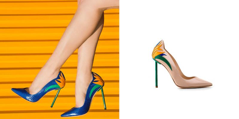 julia haart Schuhe shoes Modepilot La Perla