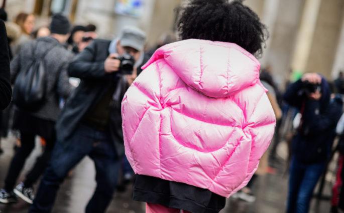 trend daunenjacke pufferjacket julia jarr samois pink street style modepilot