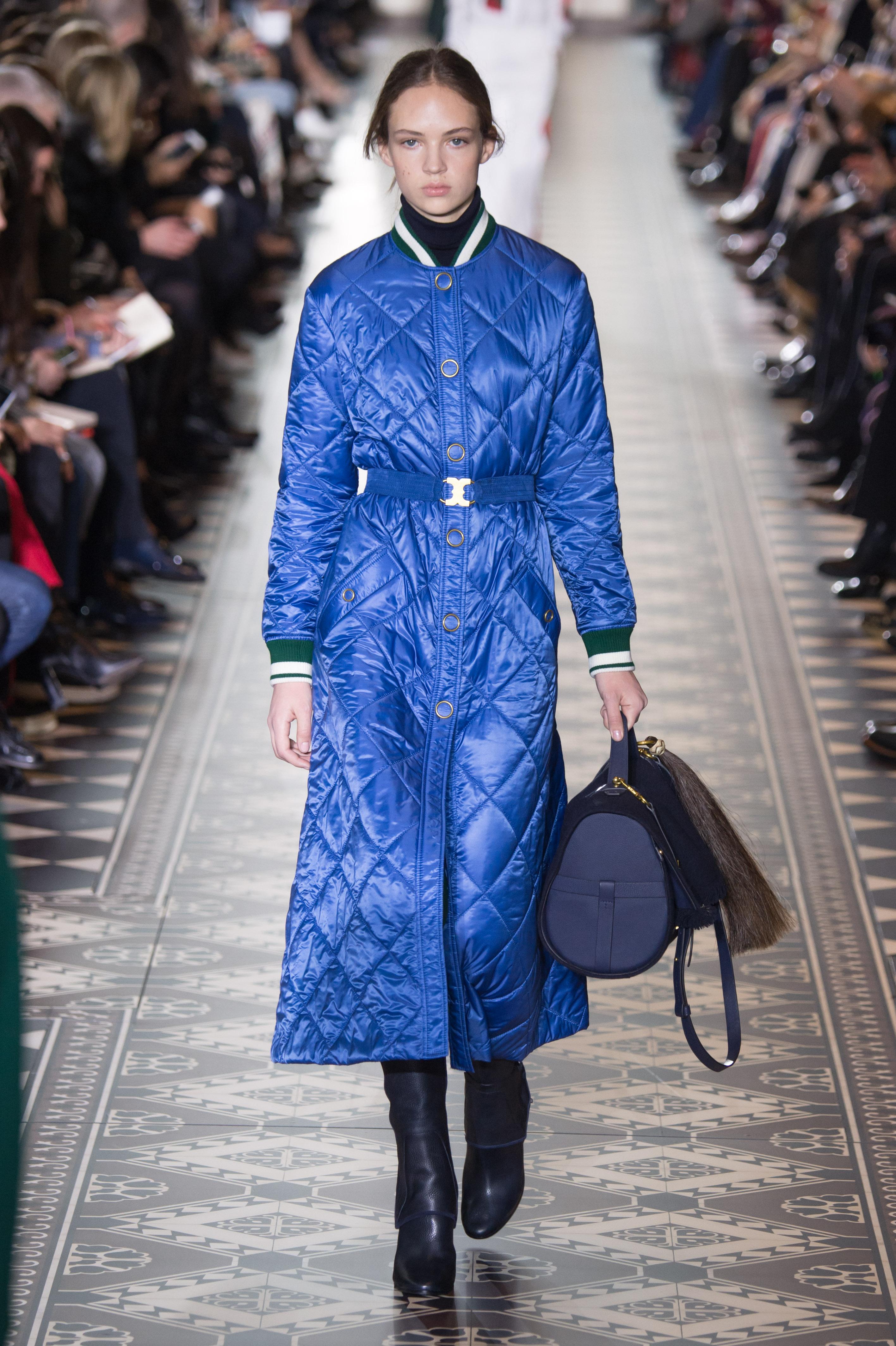 trend daune pufferjacket designer catwalk laufsteg