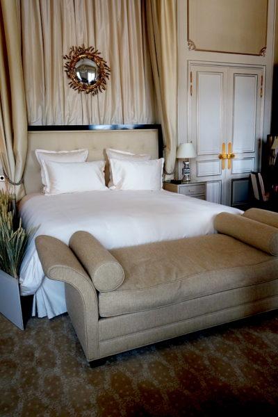 Zweites Bett in der 188 qm großen Suite.