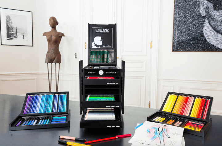Karl Lagerfeld Modepilot Faber Castell Box