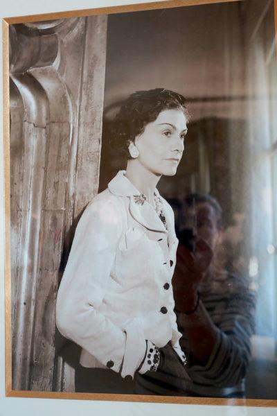 Portrait-Fotografie von Coco Chanel