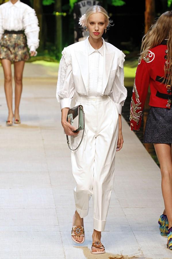 Dolce Gabbana Modepilot Modetrends 2017 Spencer Ballon Hose