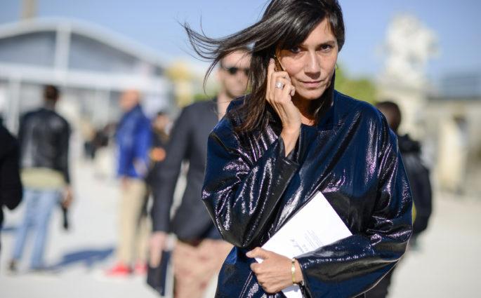 Fashion week Geflüster Emmanuelle Alt Modepilot Street style