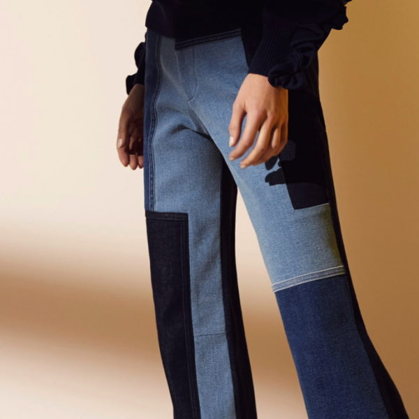 Next big Jeans-Trend: Patchwork statt Löcher