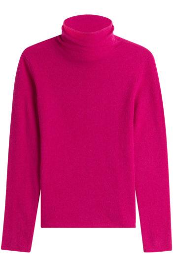 Rollkragen pink knallpink cashmere modepilot shoppen kaufen