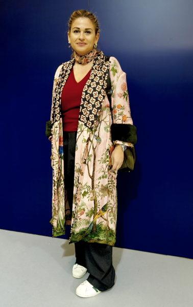 Kimono von Gucci, gesehen auf Herrenmodemesse Pitti Uomo