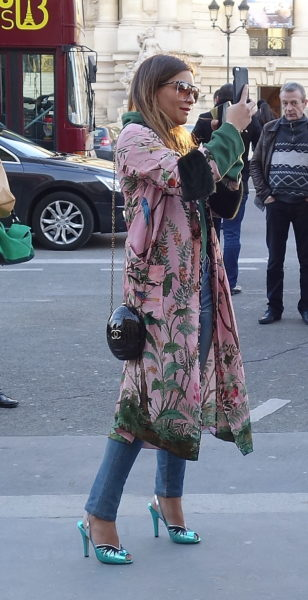 Kimono zur Jeans