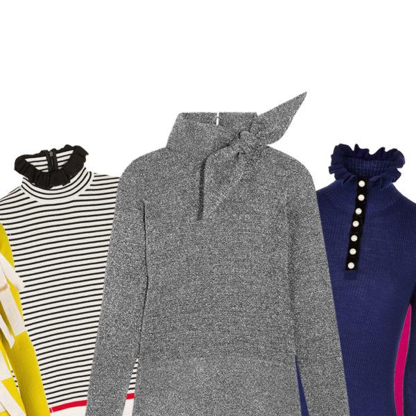 10 Rollkragen-Pullover, die alles andere als langweilig sind
