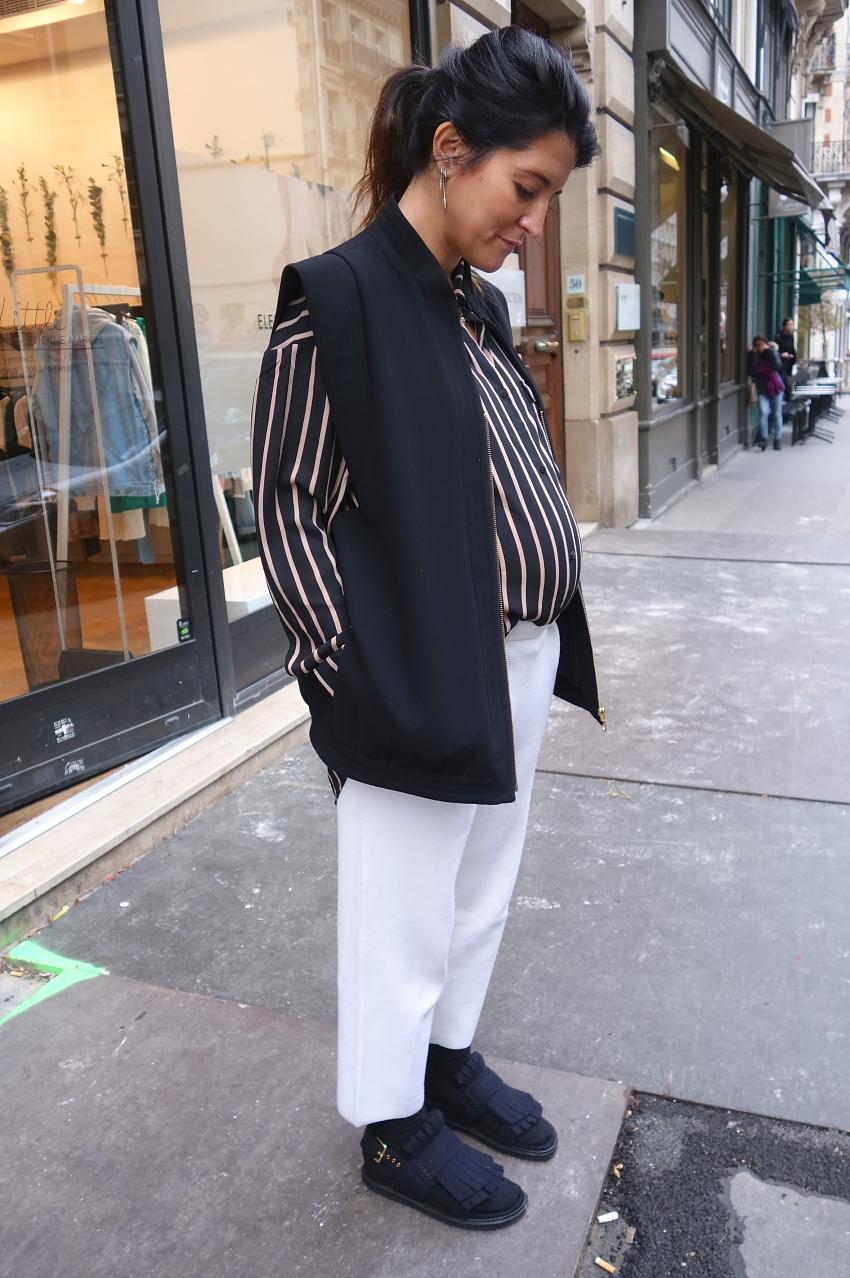 Modepilot-Schwanger-Outfit