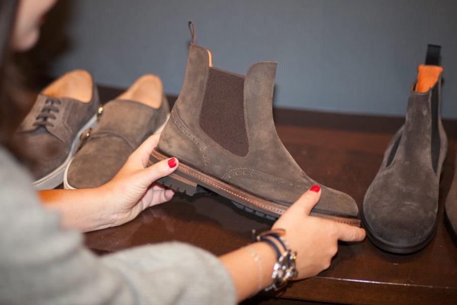 Chelsea Boots von Santoni, um 529 Euro