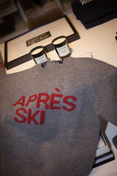 Après Ski – Sweater von Ron Dorff, um 230 Euro.