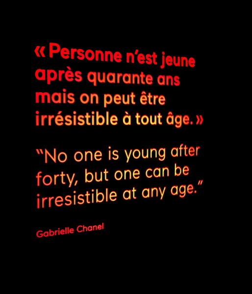 Niemand ist jung, wenn er die 40 überschritten hat. Aber man kann in jedem Alter unwiderstehlich sein.