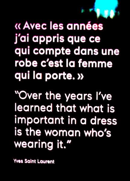 Mit den Jahren habe ich gelernt, dass es nicht das Kleid ist, das zählt, sondern die Frau, die drinnen steckt.