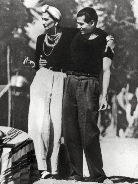 Gabrielle Chanel, 1937: Die Hose etabliert sich.