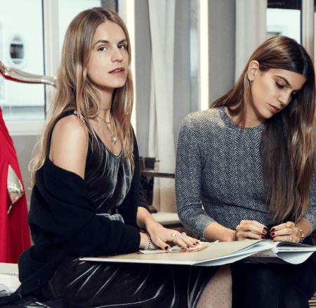 Zwei it-Girls designen für Azzaro