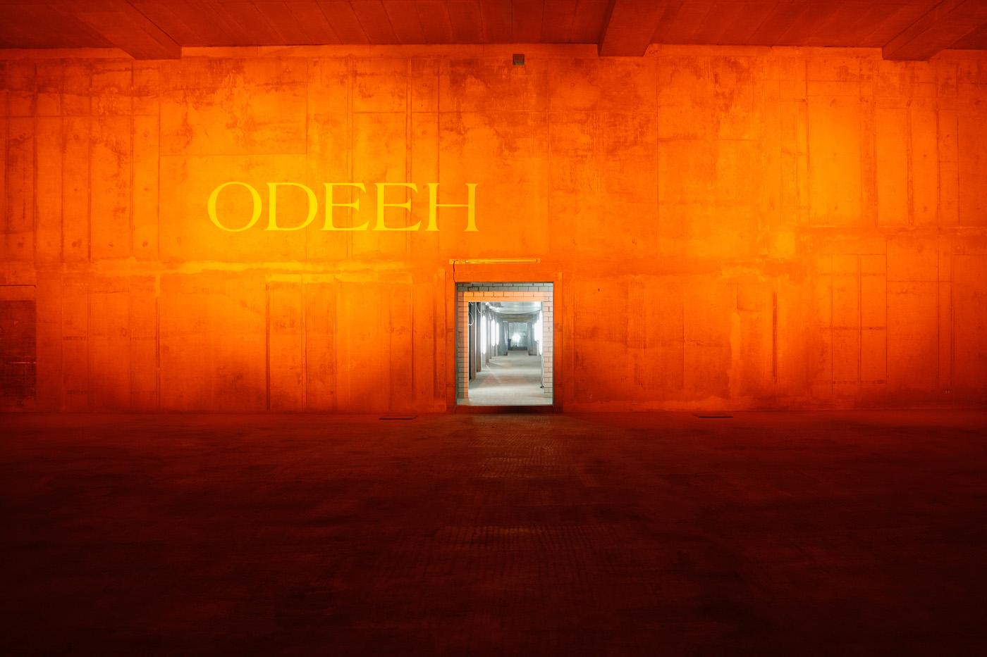 Die Location der Odeeh-Show