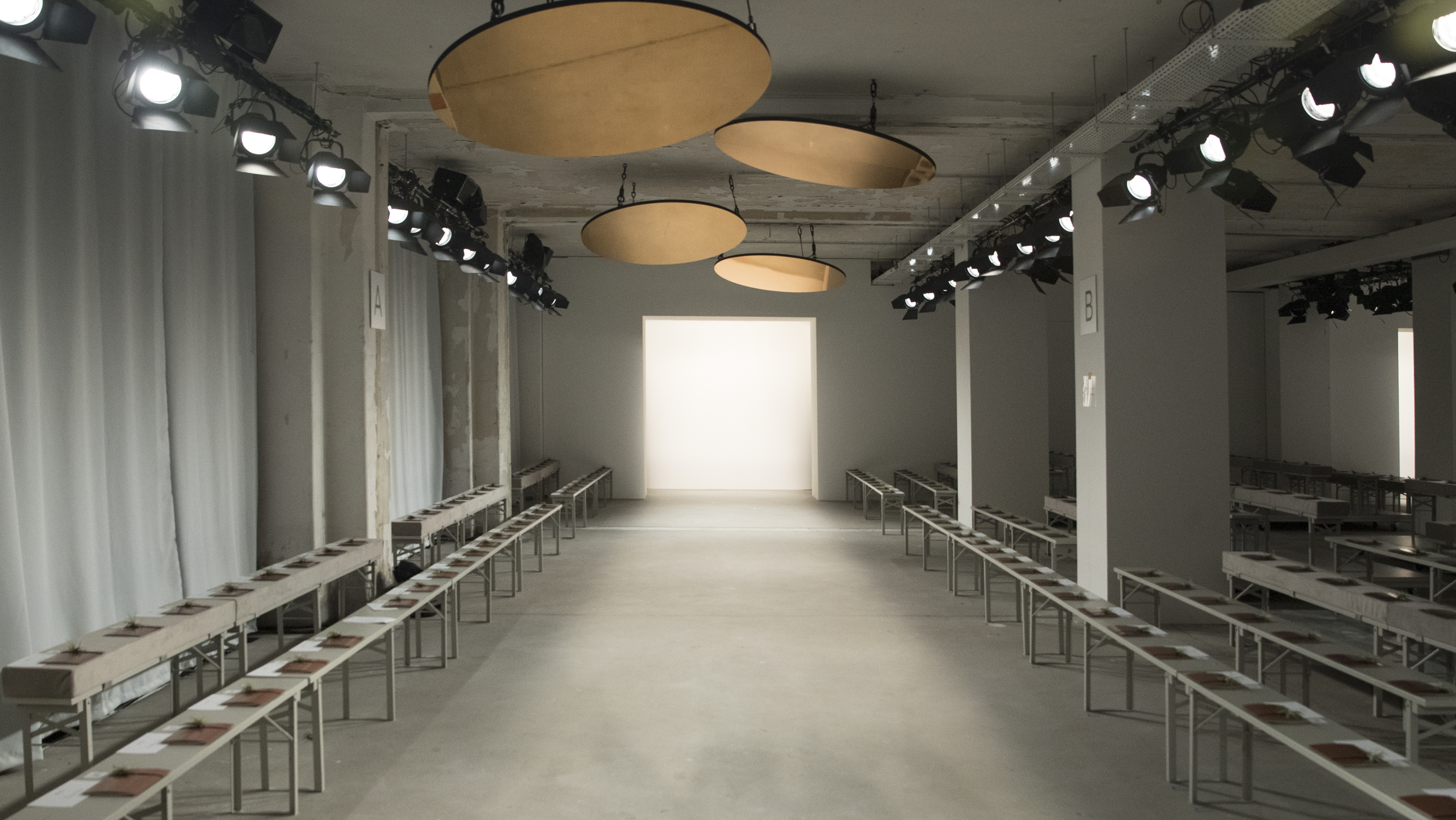Das Show-Setting in der neuen Location Kaufhaus Jandorf