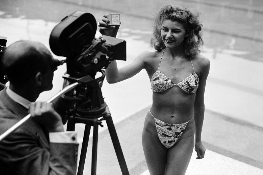 Der erste Bikini von Louis Réard, 1946, Bild: AFP