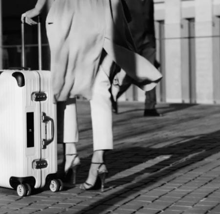 Koffer mit Köpfchen