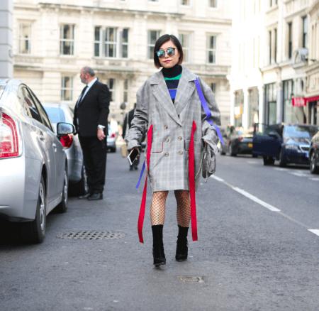 Ins Netz gegangen: Streetstyles von der London Fashion Week