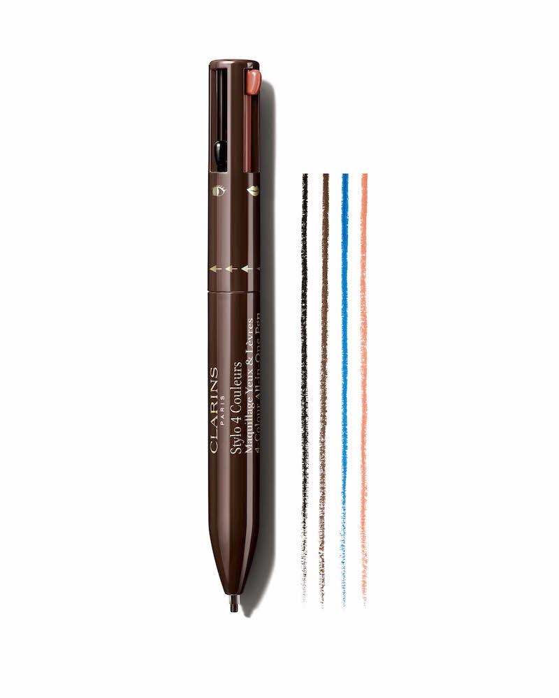 Clarins Modepilot Multicolorstift Kajal vier Farben in einem