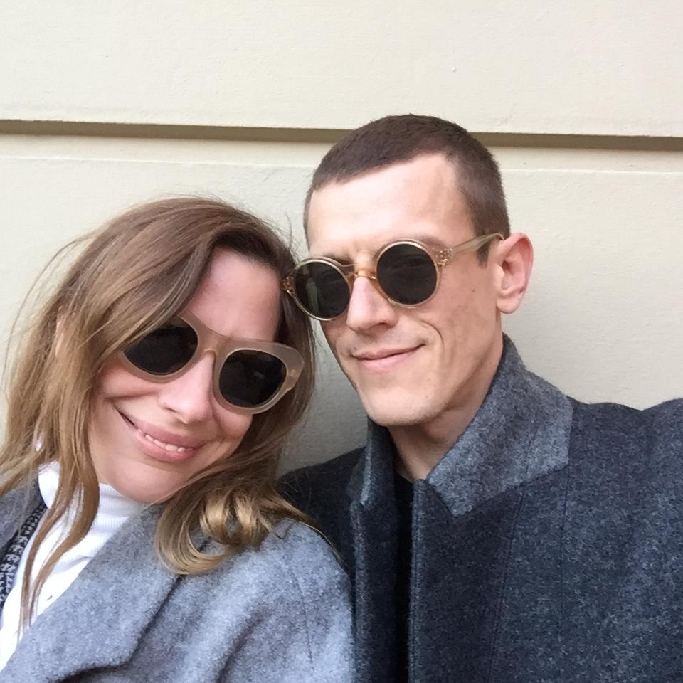 Sebastian und seine gute Freundin Sarah Sharon Karsten
