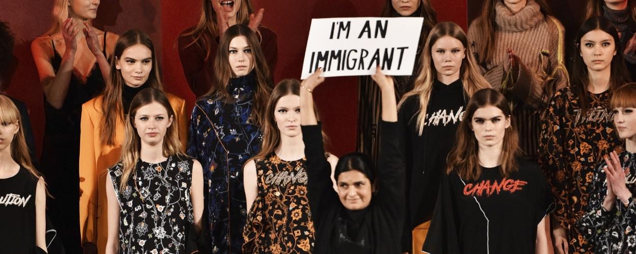 mode politisch lala berlin politik I'm an immigrant leyla