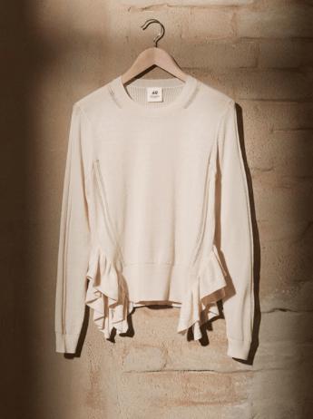 Kaufen: Der Baumwollpulli ist schön gearbeitet und fühlt sich gut an.