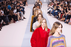 Chloe last show Clare Modepilot winter 2017 18 Catwalk review