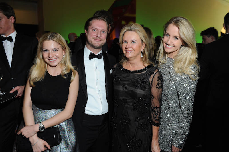 Gloria Hacke, Constantin Hemmerle, Charlotte Knapp-Voith, Valentina Knapp-Voith