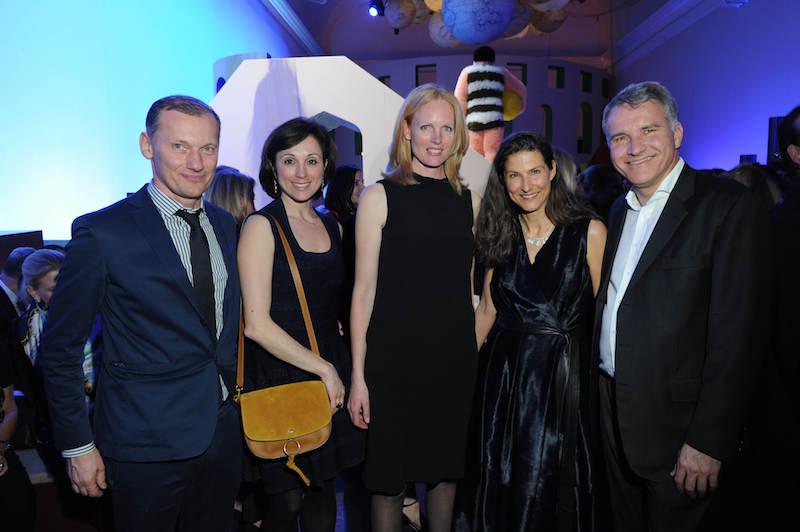 Rudi Kull mit Frau Irina Kull, Elizabeth Herzogin in Bayern, Katja Kleebach, Dr. Daniel Terberger