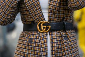 blazer Guertel Gucci Street Style Modepilot Mailand 2017